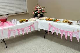 burlap with lace baby shower love