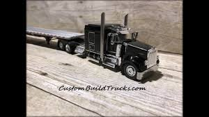 w model kenworth trucks for sale custom model black kenworth scale 1 64 youtube