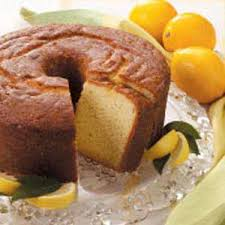 lemon buttermilk pound cake recipe taste of home