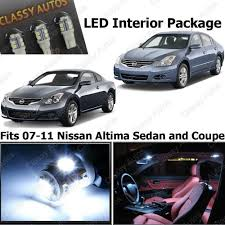 nissan altima coupe japan amazon com classy autos nissan altima white interior led package