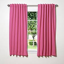 Insulated Kitchen Curtains by Amazon Com Best Home Fashion Thermal Insulated Blackout Curtains