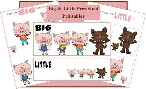 3 pigs big worksheet