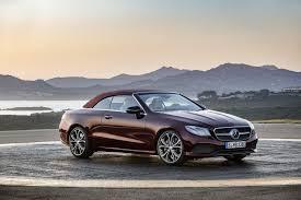 the new 2018 mercedes benz e class cabriolet myautoworld com