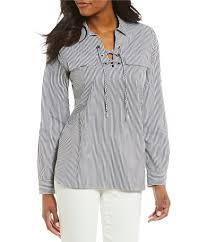 black and white blouse s casual dressy tops blouses dillards