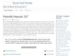 22 peterbilt manuals 387