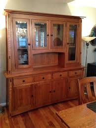 Hutch Definition Furniture Amish Mccoy Hutch With Four Doors Doors Dining Area And Solid Wood