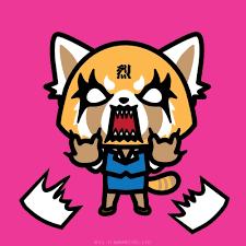 creators kitty aggretsuko red panda