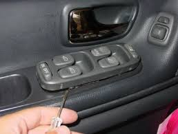 lexus rx300 master window switch 1998 1999 2000 volvo s70 v70 xc70 window switch removal