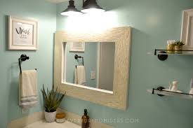 basement bathroom makeover on a budget mint black pearl and a