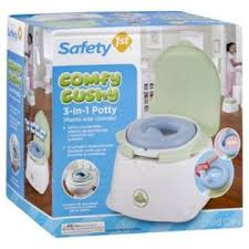 Safety 1st Potty Chair Safety 1st Child Care Potty Comfy Cushy 3 In 1 1 Potty