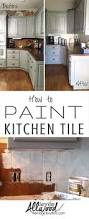 How To Tile A Kitchen Counter How To Paint Kitchen Tile And Grout An Easy Kitchen Update