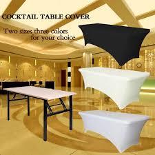 stretch fabric table cloth ourwarm rectangular table cover spandex fabric tablecloth stretch