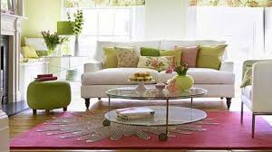 classy pink and green living room ideas lovely inspiration