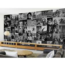 creative collage designer 64 piece wall mural new york vintage creative collage designer 64 piece wall mural new york vintage map typography