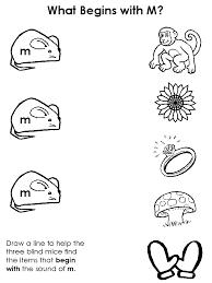 draw a line beginning consonant worksheets