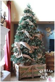 burlap ribbon christmas tree u2013 bazaraurorita com