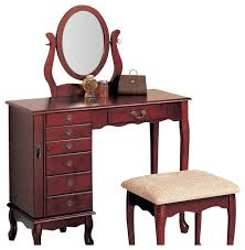Make Up Vanity Tables Coaster 8 Drawer Jewelry And Makeup Vanity Table Set With Swivel
