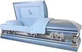 overnight caskets overnight caskets praying monarch blue finish