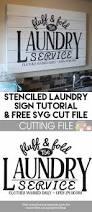 Laundry Room Hours - stenciled laundry room sign u0026 free svg file wash room svg file