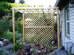 Privacy Trellis Ideas by Pergola Trellis Plans Diy Free Download Building Bird Feeder Pole