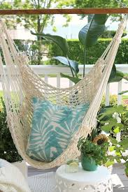 why my new hanging chair is the best part of my porch now city