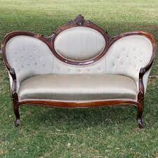 Vintage Settee Loveseat Furniture Antique Sofas For Sale Victorian Couches Victorian