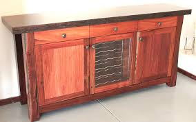 wine rack buffet table with wine rack espresso buffet table with