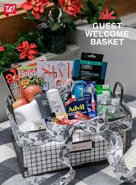 welcome baskets for wedding guests gift basket ideas for welcome home home design hay us