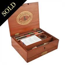 antique artist s box antique paint box mahogany artist box