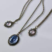 vintage necklace pendants images Diy simple vintage cabochon pendant chain necklace jewelry pendants jpg