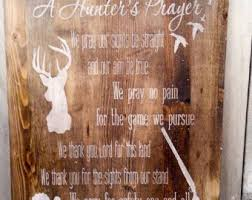 Hunting Home Decor Wood Sign Home Decor Etsy