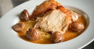 cuisiner les chataignes dinde farcie aux marrons recette de dinde aux marrons farcie et