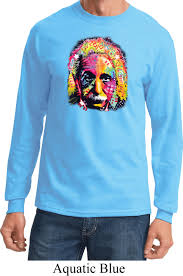 mens funny shirt albert einstein long sleeve tee t shirt albert