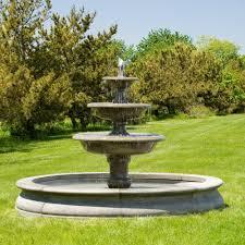 ideas for diy outdoor fountain design 11913