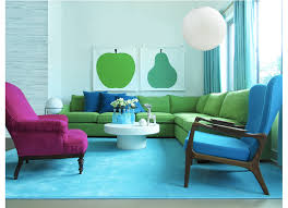 Lime Green Sofa by The Happy Collective Interior Design By Aaron Kllc Very Blue