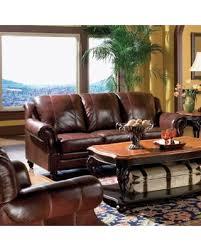 Coaster Leather Sofa Don T Miss This Deal On Coaster Company Tri Tone Leather Sofa