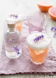 lavender elderflower and grapefruit gin fizz edible seattle