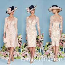 pink half sleeves lace mother of the bride dress jacket chiffon