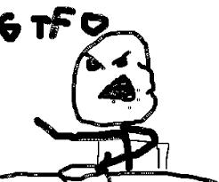 Stick Man Meme - stickman meme telling gtfo drawing by laxpudding coloradohugge