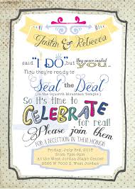 post wedding reception invitations wordings post wedding reception invitation templates free as