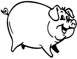 coloring pages pigs tags pigs coloring pages easy draw piglet