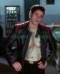 jon abrahams bobby prinze scary movie leather jacket trendy leather