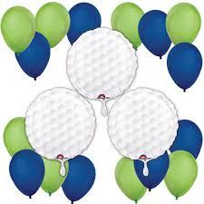 retirement balloon bouquet golf print balloon kit par time golf print balloon bouquet
