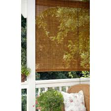 Outdoor Bamboo Shades For Patio by Decorating Interesting Patio Design With Matchstick Blinds