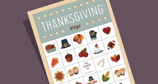 the paper boutique thanksgiving bingo