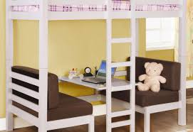 White Twin Over Full Bunk Bed With Stairs Bed Satisfying Pink And White Bunk Beds With Desk Under Horrible