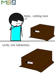 Cardboard Box Meme - mgs cardboard box meme mne vse pohuj