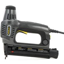 stanley 1 in electric brad nailer tre650 the home depot