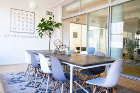rachel zoe home interior you u0027ll want to work in this cheerful co working space home tour