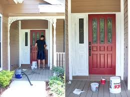 articles with painted front doors on brick homes tag stupendous